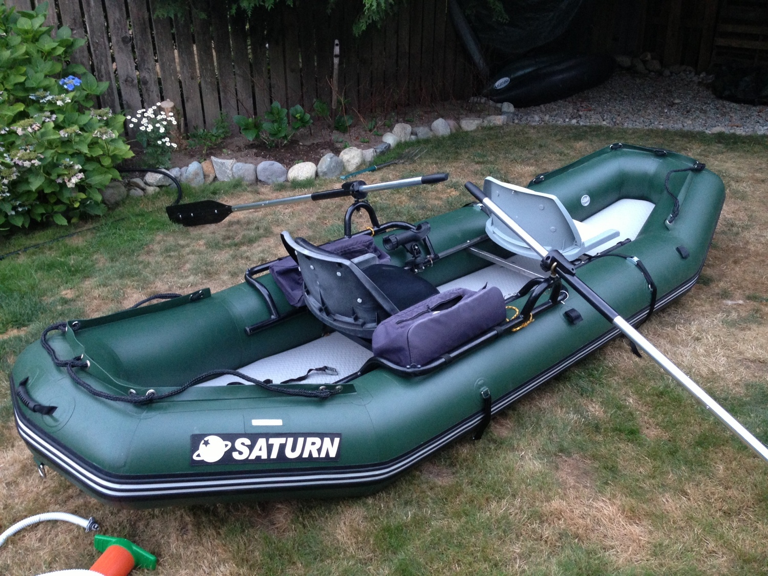 Saturn light inflatable river rafts lowest prices in usa for Fishing rafts for sale