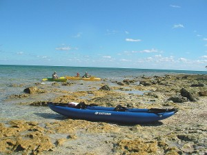 Saturn 13' RK396 Blue Expedition Inflatable Kayak