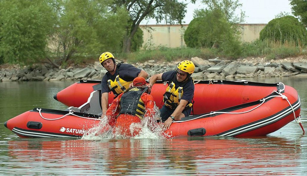 Saturn Inflatable Boats are used by Fire Rescue Departments Across The USA.