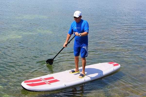 Saturn Inflatable SUP paddle Board.