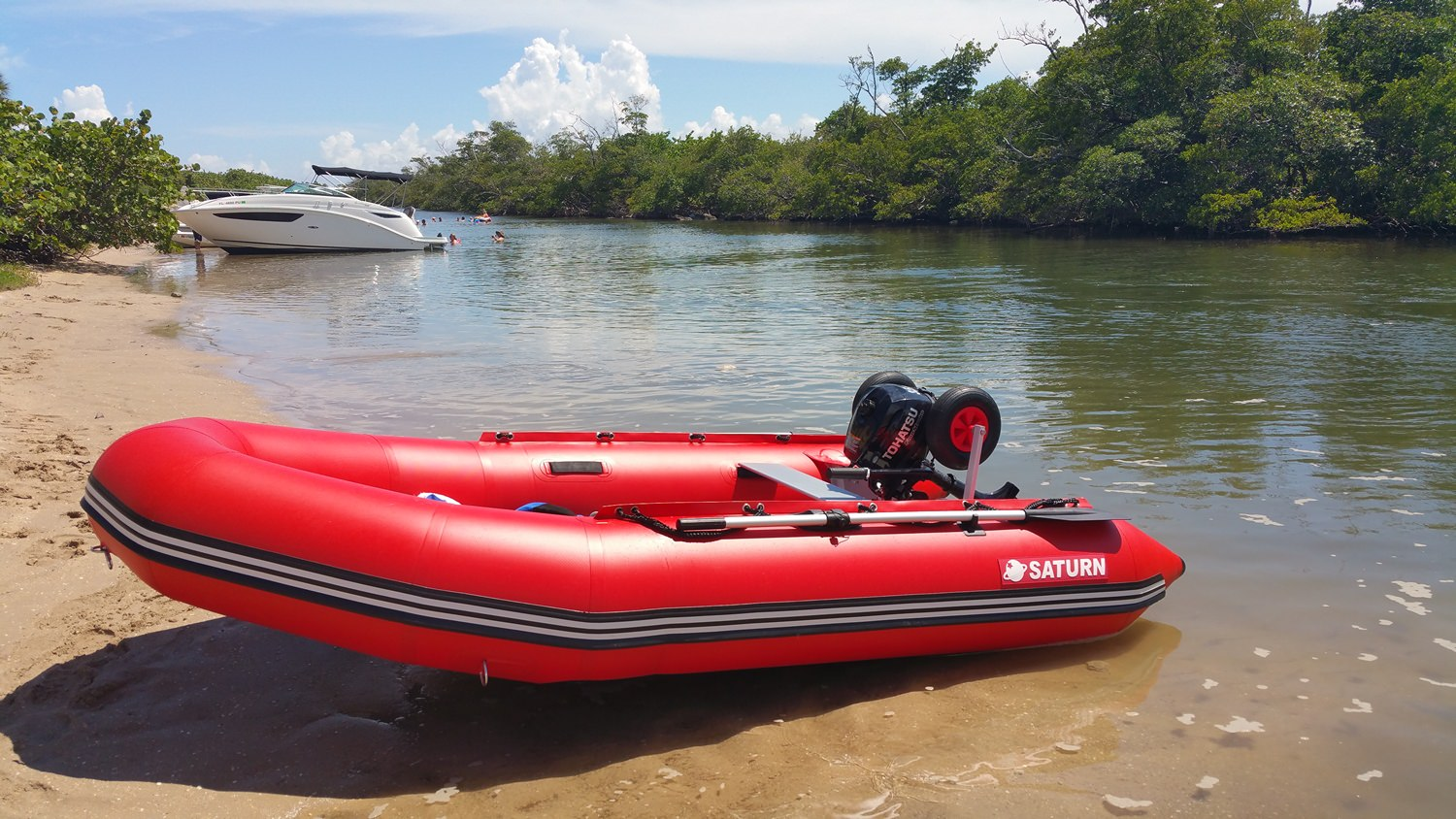 Pin Inflatable Motor Boat Inflatable Motor Boat Inflatable Boat on ...