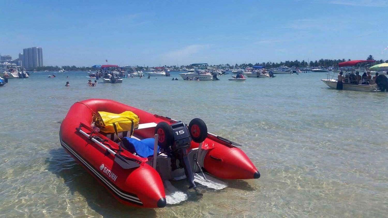 Saturn Inflatable Boat Fenders