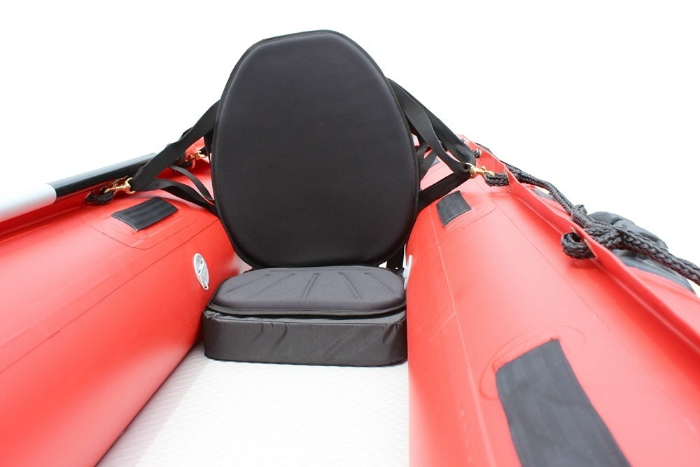 Inflatable Seat Cushion >> Extra High-Back Kayak Seats for inflatable kayaks.