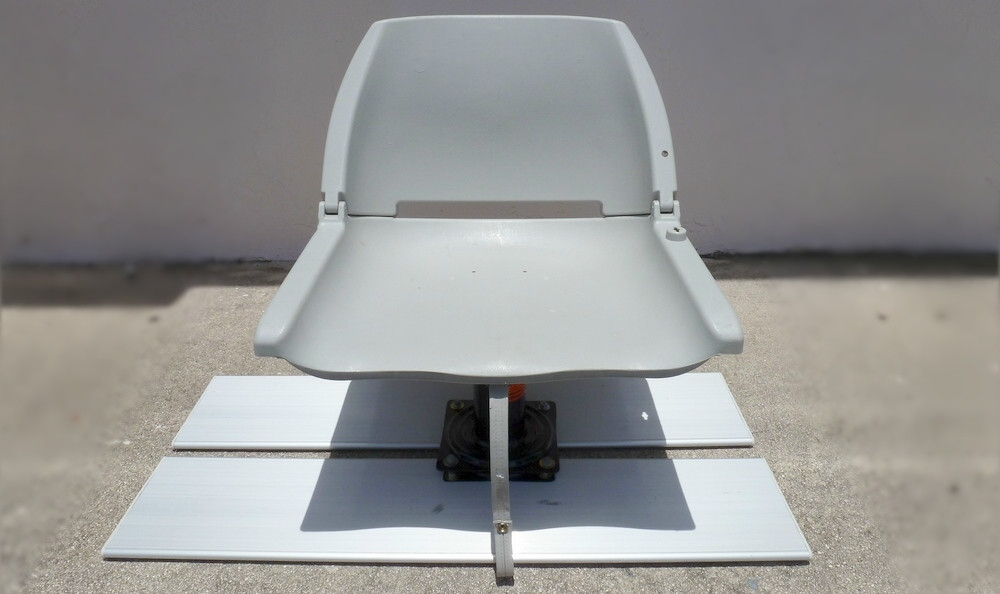Do It Yourself Swivel Fishing Seat Platform For Kaboats