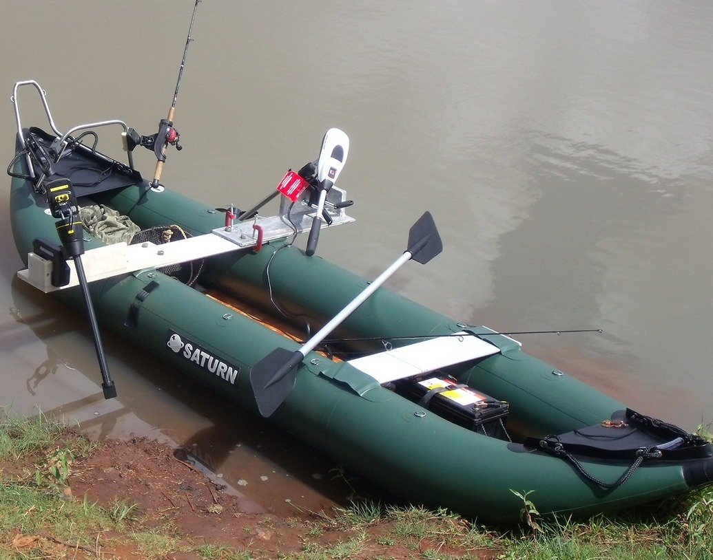 Saturn 13 39 fk396 pro angler series inflatable fishing kayaks for How to fish from a kayak