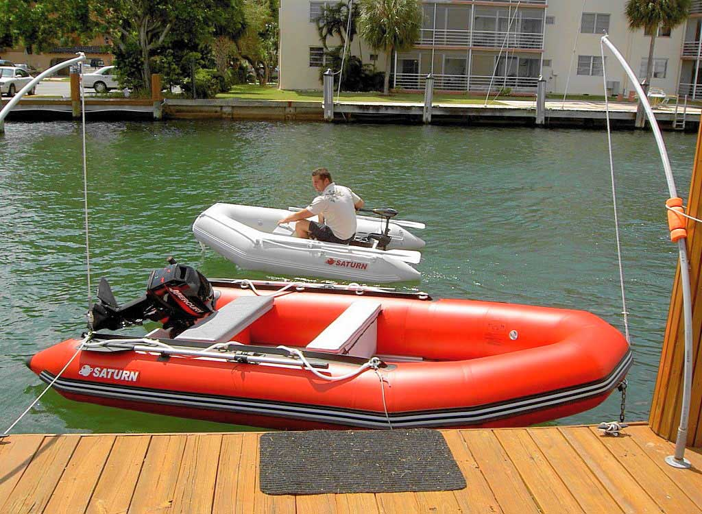 Saturn Sd260 Portable And Affordable Inflatable Dinghy