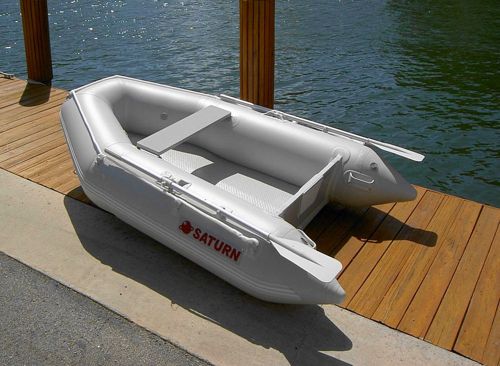 Saturn sd260 portable and affordable inflatable dinghy for Inflatable boats for fishing