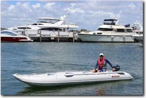 KaBoat SK487 Inflatable Motor Boat